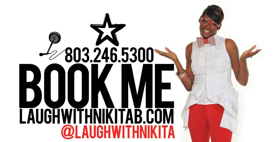 Book Nikita B @laughwithnikitab
