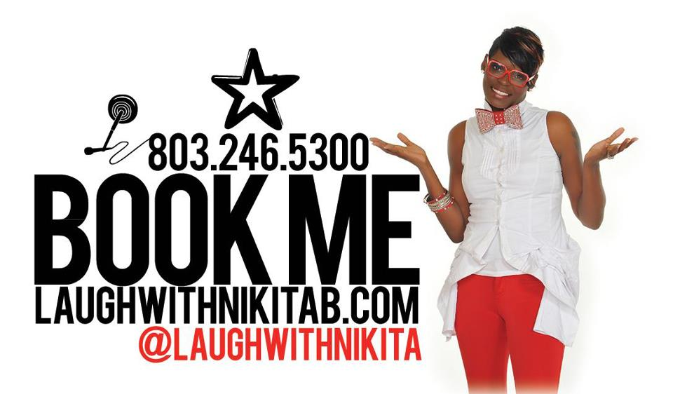 Book Comedian Nikita Blakeney For Your NEXT Event