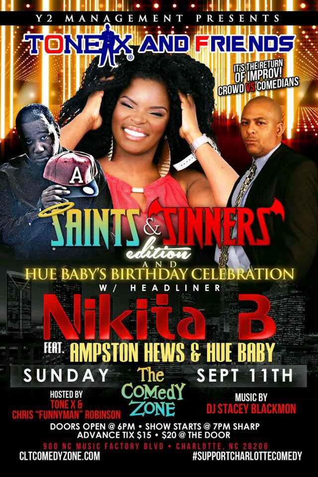 Saints & Sinners Comedy Show