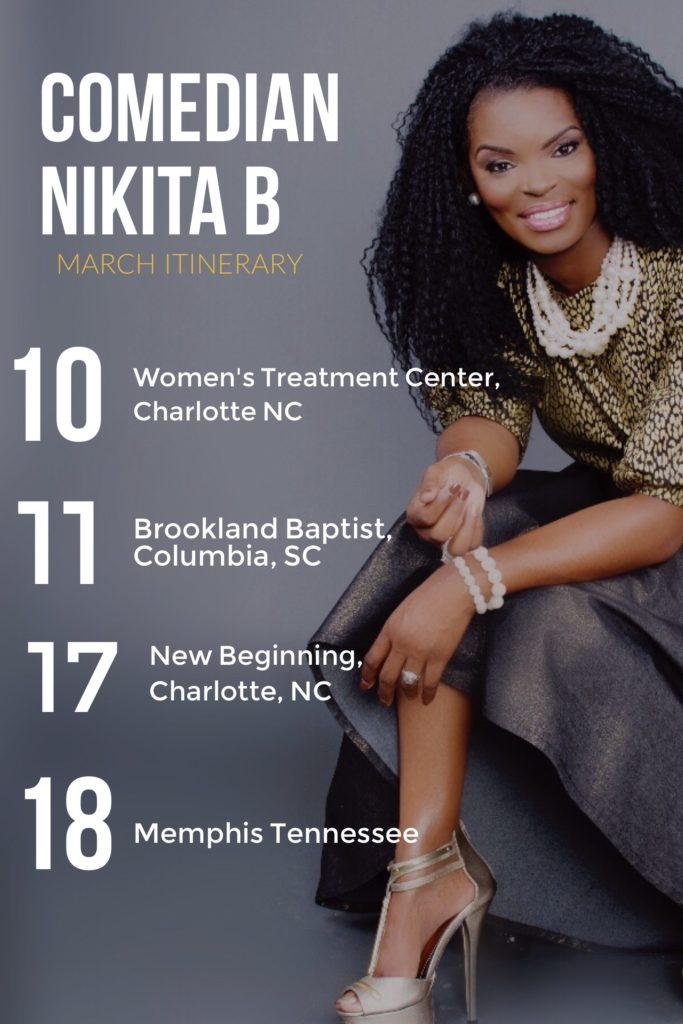 Nikita B Williams Schedule